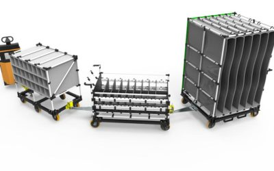 Geolean Global News: Create Superior Material Flow with Integrated Carts