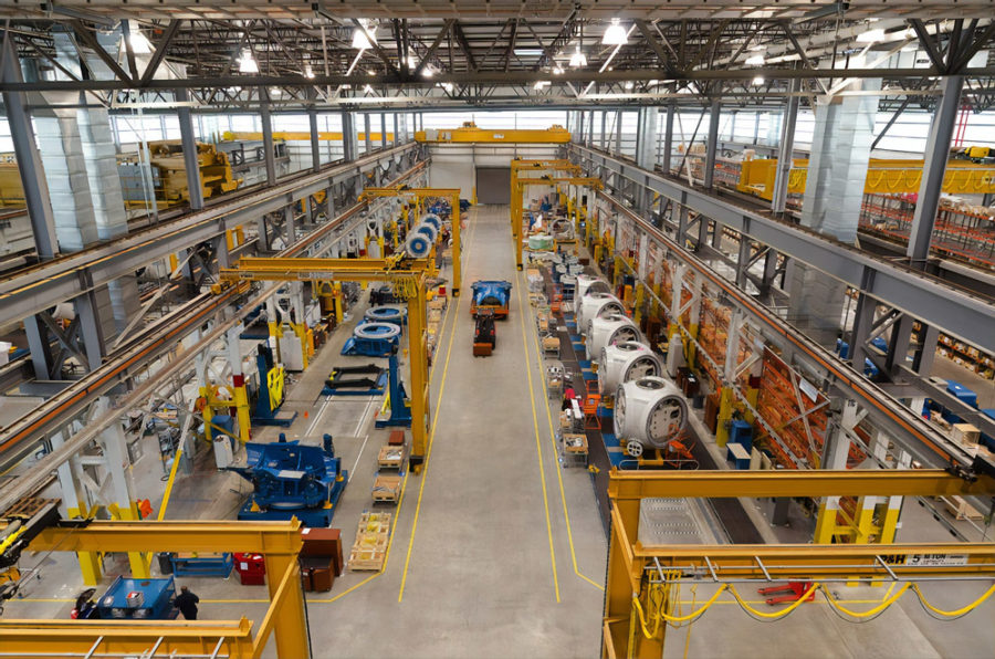 Social Distancing in Manufacturing